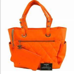 CHANEL Paris Biarritz Tote Bag